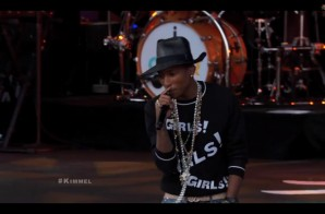"Pharrell Performs ""Come Get It Bae"" On Jimmy Kimmel (Video)"