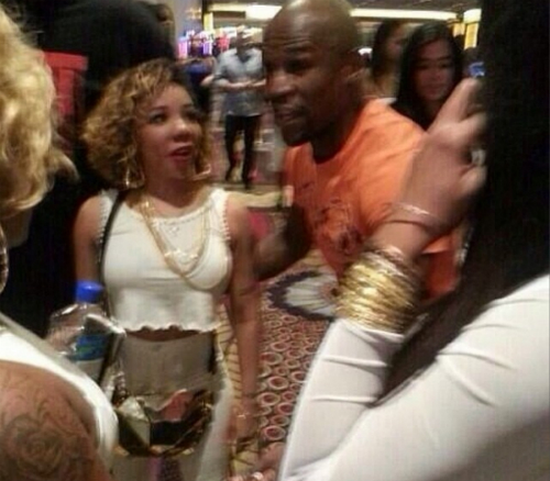 Tiny Address Fight Between TI Floyd Mayweather Tiny Addresses T.I. & Floyd Mayweather Fight