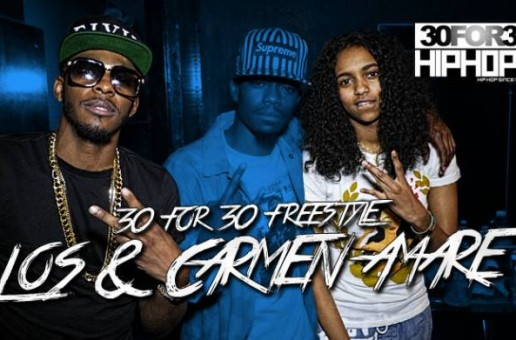 [Day 14] Carmen Amare & King Los – 30 For 30 Freestyle (Video)