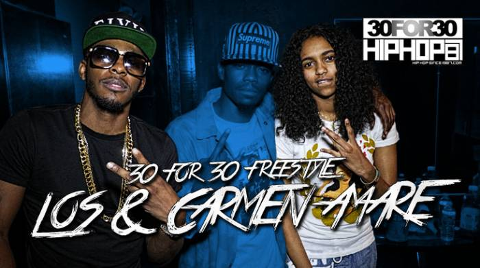 [Day 14] Carmen Amare & King Los - 30 For 30 Freestyle (Video)