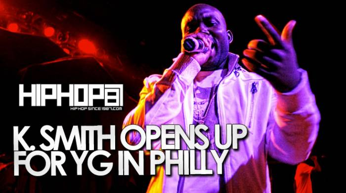 K Smith Performs Live in Philly (4/29/14) (Video)