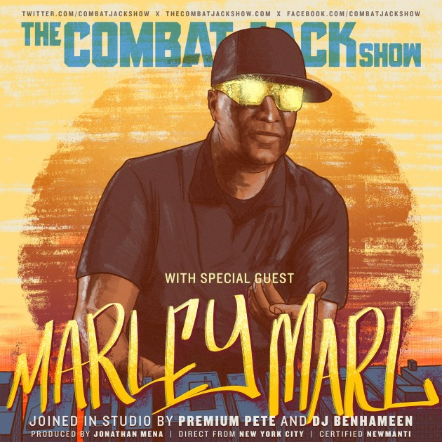 marleymarlthecombatjackshow Hip Hop Pioneer Marley Marl Talks Discovering Rakim, Producing The Bridge Is Over, The Juice Crew & More on The Combat Jack Show! (Audio)