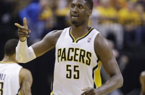 Indiana Pacers Center Roy Hibbert leads the Pacers to a Ga