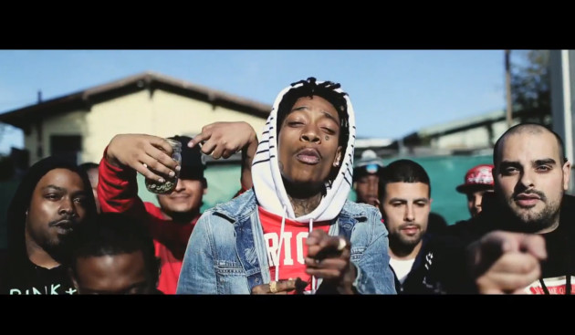 wizkhkhalifanewvideo 1 Wiz Khalifa   Maan! (Video)