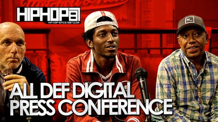 All def digital press  HHS1987 Exclusive: All Def Digital Press Conference At Mitchell & Ness (06/13/14) (Video)