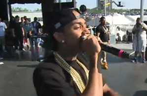 Nipsey Hussle Performs at Hot 97 Summer Jam Festival Stage (Video)