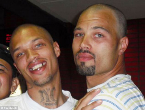 Jeremy Meeks and his brother