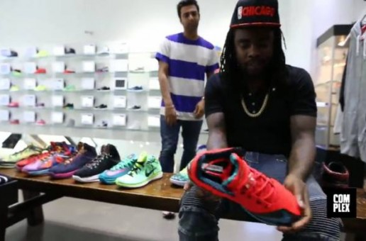 Wale Talks Sneakers & More with Complex During His Shopping Spree (Video)