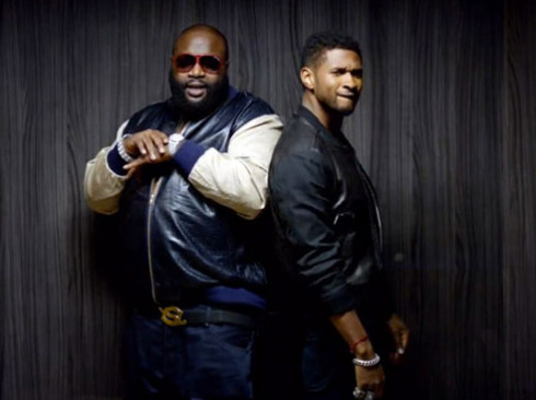 Screenshot 2014 06 09 at 5.51.33 PM 1 Usher   Good Kisser (Remix) Ft. Rick Ross