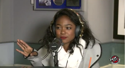 Tatyana Ali On Hot97 Tatyana Ali Talks Girl Crushes, Will Smith, And More (Video)