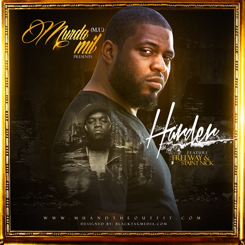 artworks 000081482220 j88hyr t500x500 Murda Mil   Harder Ft. Freeway (Prod by Big Demi)