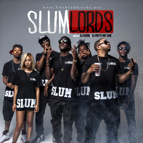 cover1 K Camp & Sy Ari Da Kid   SlumLords (Mixtape) (Hosted by GENIUS & Pretty Boy Tank)