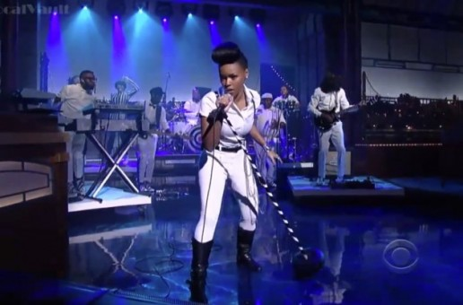 """Janelle Monae Performs """"Heroes"""" on The Late Show with Letterman (Video)"""