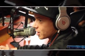 Logic Visits #WeekendWork With DJ Caesar & Coach PR On Shade45 (Video)