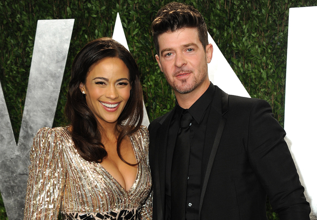 showbiz paula patton robin thicke If It Isnt Love: Robin Thicke Will Title his New Album Paula