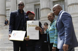 "World Renowned Brooklyn Film Director Spike Lee Given Honorary ""Do The Right Thing Day"""