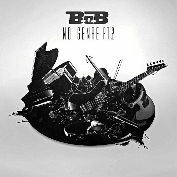 BoB no genre 2 cover B.o.B Unveils No Genre 2 Artwork