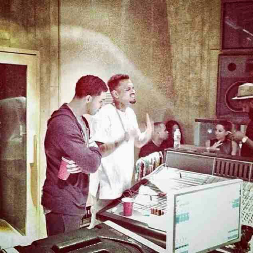 Chris Brown Drake Working On Collab Project Chris Brown & Drake Working On A Collab Project (Video)