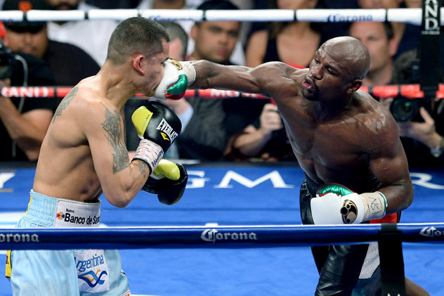 Floyd Mayweather vs Marcos Maidana 2 ethan miller getty Lets Get Ready to Rumble: Floyd Mayweather Jr. Rematch with Marcos Maidana Set for September 13th