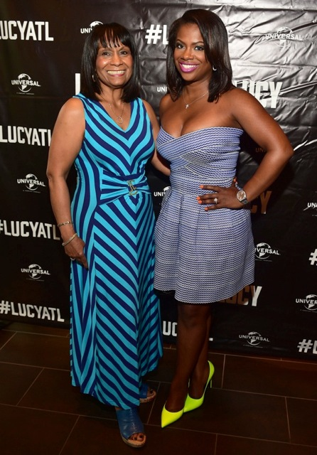 Kandi Burruss, Toya Wright, Angel McCouughtry & More Gather for the LUCY Movie Premiere in Atlanta