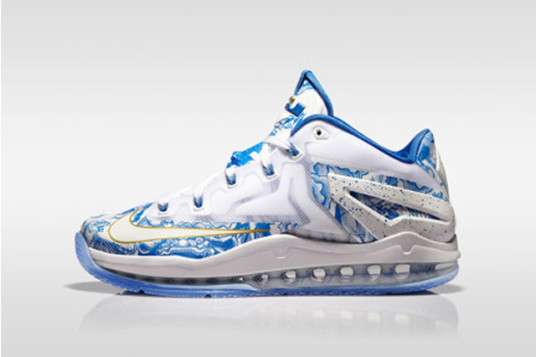 "Nike LeBron 11 Low China Another Look 1 536x357 Nike LeBron 11 Low ""China"" (Photos)"
