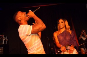 "Stevie J & Joseline Perform ""Purple Waves"" in Los Angeles (Video)"