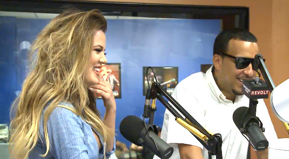 Screenshot 2014 07 24 at 5.48.59 PM 1 Angie Martinez Talks Love & Hip Hop w/ French Montana & Khloe Kardashian (Video)