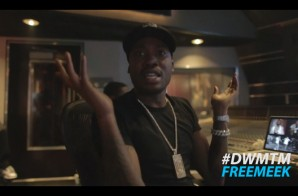 Meek Mill & Ty Dolla Sign In The Studio (Video) (Shot by Will Knows)