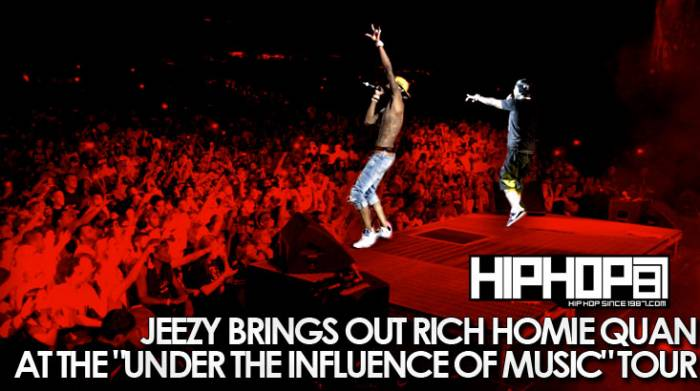 jeezy brings out rich homie quan at under the influence of music tour in camd