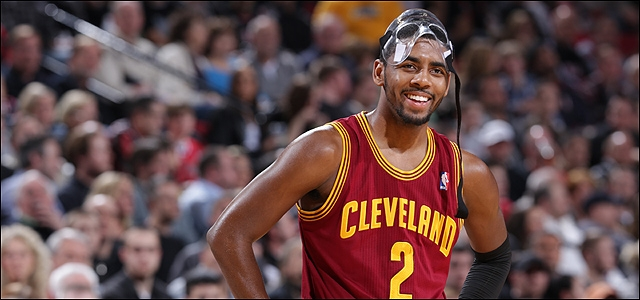 kyrie 130124 Kyrie Irving Agrees to a 5 year $90 Million Dollar Extension with the Cleveland Cavaliers