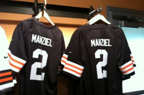 Cleveland Browns Rookie Johnny Manziel Leads NFL Jersey Sales