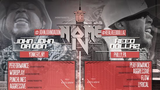 reed dollaz vs john john da don full battle video HHS1987 2014 Reed Dollaz Vs. John John Da Don (Full Battle Video)