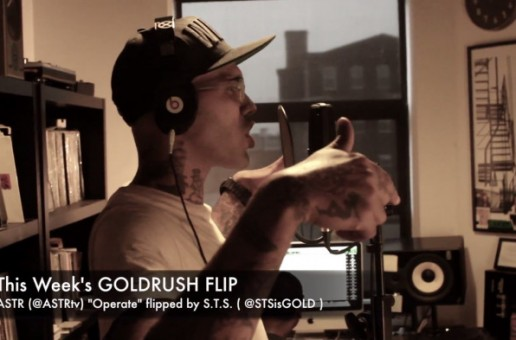 S.T.S. (Sugar Tongue Slim) – In The Lab w/ THE GOLDRUSH ft. Sean Falyon (Video)