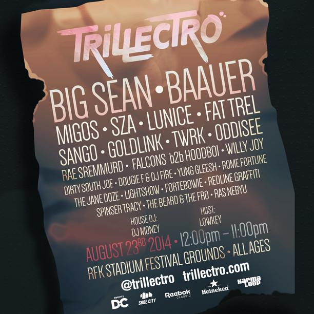 trillectro 2014 1 Trillectro 2014 Lineup