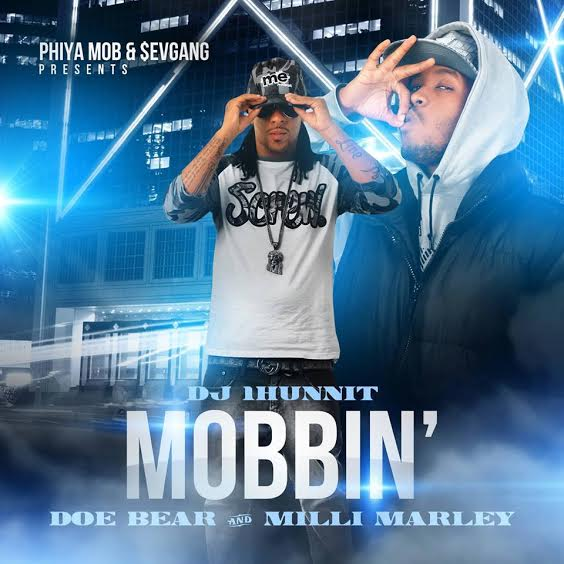 unnamed10 Milli Marley x Doe Bear   Mobbin (Mixtape Artwork) (Hosted by DJ 1Hunnit)