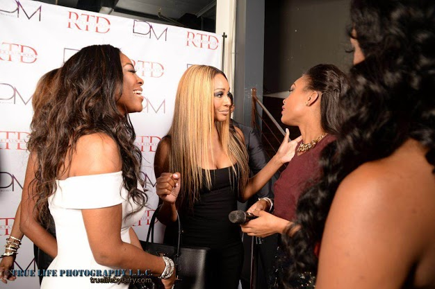 IMG 3605 Demetria Mckinney Celebrates Her 100 Video Release Party In Atlanta (Photos)