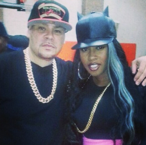 Remy Fat Joe Now Fat Joe & Remy Ma Reunite (Photo)