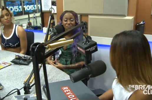 Diamond And Brianna Perry Join The Breakfast Club To Discuss Oxygen's Sisterhood Of Hip Hop (Video)