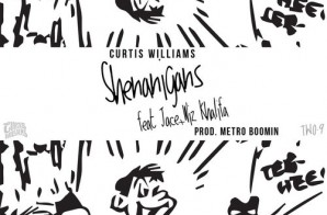 Curtis Williams x Wiz Khalifa x Jace – Shenanigans (Prod. by Metro Boomin)