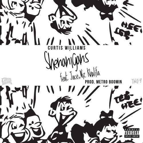 artworks 000089380925 4wql5w t500x500 Curtis Williams x Wiz Khalifa x Jace   Shenanigans (Prod. by Metro Boomin)