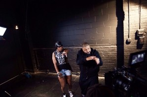 dj khaled remy ma 4 298x196 DJ Khaled   They Don't Love You No More (Remix) Ft. Remy Ma & French Montana (Behind The Scenes) (Photos)
