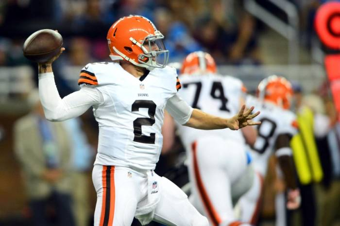 johnny manziel nfl preseason cleveland browns detroit lions1 Johnny Manziel & The Cleveland Browns Will Face RGIII & The Washington Redskins Tonight on ESPN