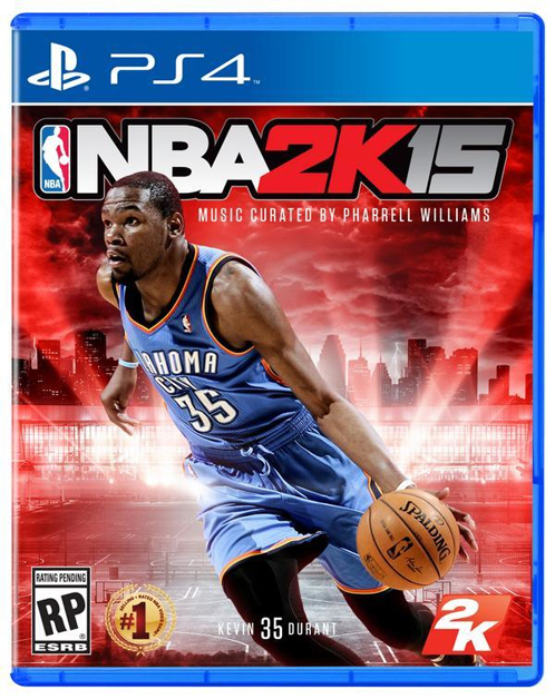kevin durant nba2k15 Pharrells Curated NBA 2K15 Soundtrack Has Been Revealed