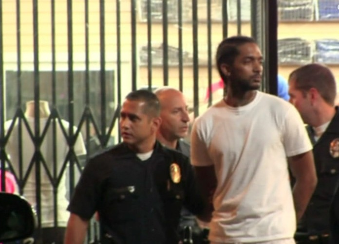 nipsey hussle arrested ddotomen 1 e1409421407611 Nipsey Hussle Arrested In Los Angeles Last Night & Has Been Released