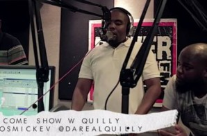 Quilly – 22 Minute Come Up Show Freestyle (Video)