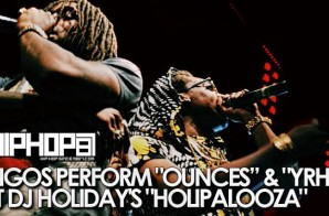 "Migos Perform ""Ounces"" & ""YRN"" At DJ Holiday's Holipalooza (Video) (Shot by Brian Da Director)"