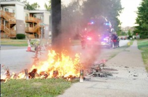 America, The Ugly: Mike Brown's Memorial Burned Down In Ferguson (Video)