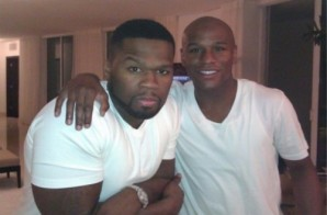 50 Cent's Son Spotted With Floyd Mayweather (Photo)