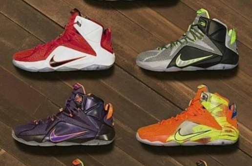 Nike Officially Unveils The LeBron 12 (Photos)
