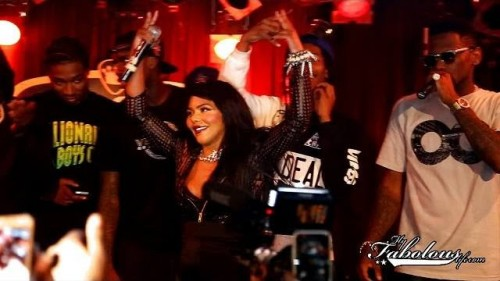 Fabolous Joined On Stage By Bobby Shmurda, Lil Kim, & Red Cafe (Video)